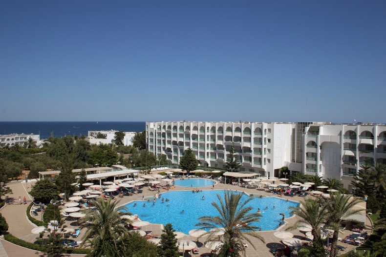 El mouradi palace hotel sousse for Mouradi hammamet 5 chambre